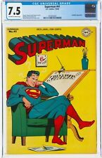 Superman #41 CGC 7.5 VFN MINUS Beautiful High Grade Copy 1946 Prankster  ACTION