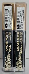 2 New Milani Amore Matte Metallic Lip Creme,#23 Magic Matte,#50 Wicked+free🛫.