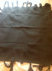 Timberland Shawl style  large scarf Grey 90 x 100cm Brand New Lambswool