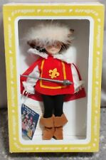 "Vintage Effanbee 11"" Doll Musketeer #92 (Made In U.S.A)"