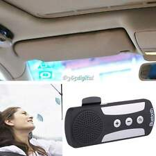 Wireless Bluetooth Car Kit Speaker Speakerphone Multipoint Clip for Iphone 35DI