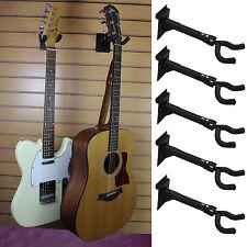 Qty 5 Guitar Hanger Bracket Slatwall Standard 3 Oc Spacing Fixture Music Store