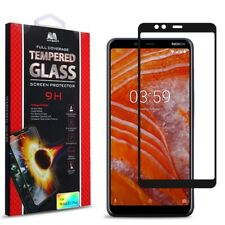 For Nokia 3.1 Plus Premium Shockproof Tempered Glass Screen Protector Guard Film