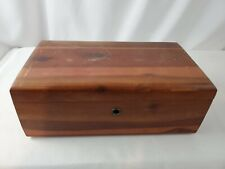 "Vintage LANE Miniature Salesman Sample Cedar Chest Box 9""x5""x3.5"" -Free Shipping"