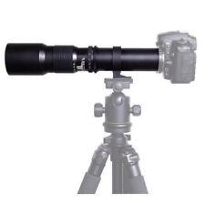 500mm f/8.0 Telephoto Lens for Canon EOS 750D 450D 550D 60D 7D 5D Mark II III