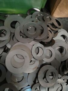 sculpture washers 5kg steel laser cut 55 60 65 70 85 90 od size 2 mm thick