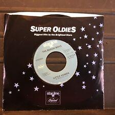 """The Beach Boys Little Honda / Barbara Ann 7"""" 45 rpm Capitol Starline VG+"""