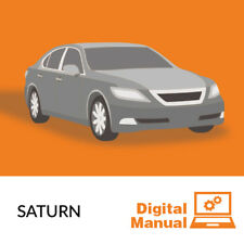 Saturn - Service and Repair Manual 30 Day Online Access