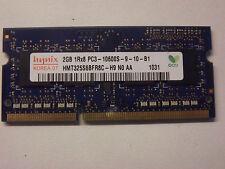 Mémoire PC Portable DDR3 Hynix 2Gb PC3-10600S 1333Mhz (HMT325S6BFR8C-H9) #DP4
