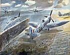 WWII Spitfires by British  Eric William Ravilious. Canvas War Art 11x14 Print