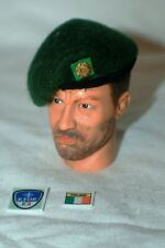 1/6 Irish Defence Force Army Ranger Wing green beret & metal badge