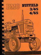 BMC Nuffield 3/45 & 4/65 Tractor Drivers Handbook