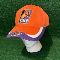 New NBA Phoenix Suns Basketball Team Logo Orange & Purple Dad Hat Strapback Cap