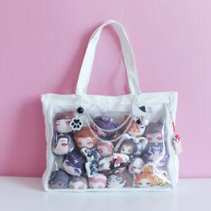 Comic Show Transparent Jelly Candy Clear Cute Dolls Itabag Shoulder Bag Handbag