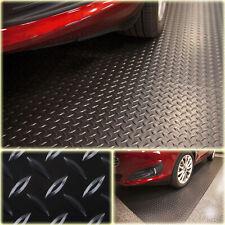 7.5 ft. x 14 ft. Diamond Black Universal Garage Flooring Trailer Mat Floor Cover