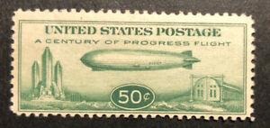 TDStamps: US Airmail Stamps Scott#C18 Mint H OG