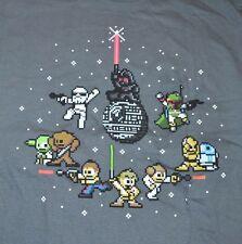 Star Wars KAWAII 8-Bit Galaxy T-Shirt Official Licensed Tee Size Medium