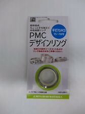 PMC Dried Blank Silver Clay Ring ,  Flat Type M3(for US Ring Size #8,#9)