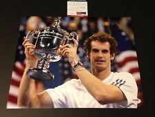 Andy Murray Wimbledon TENNIS Signed Auto 11x14 PHOTO PSA/DNA COA