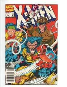 X-Men #4 Jim Lee Wolverine 1st App Omega Red Rogue Gambit Newsstand Variant 1992