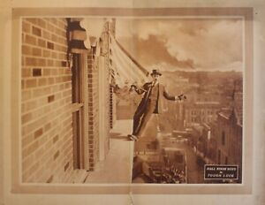 TOUGH LUCK (1921) Early Vintage Comedy Silent Movie Stunt better than H. Lloyd!