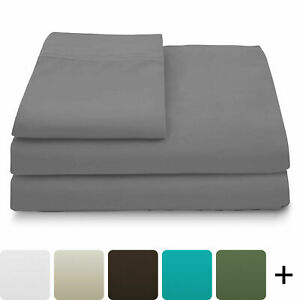 100%  Bamboo Cooling Bed Sheets Set Ultra Soft Luxury Deep Pocket Sheet All Size