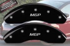 "2011-2017 Ford Fiesta Front Black Engrave ""MGP"" Brake Disc Caliper Covers 2p Set"