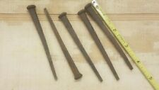 25 Pack of Vintage Antique 2 1//2 Inch Rusty Square Cut Iron Nails 4 oz.