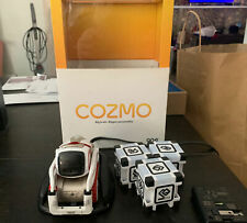 Anki 190-00057 Cozmo Robot Toy - White w/ charger, cubes, and original box
