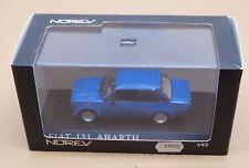 NOREV 1/43 770171 FIAT 131 ABARTH 1976 BLUE