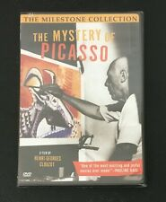 The Mystery of Picasso DVD OOP  Pablo Picasso, Henri-Georges Clouzot NEW SEALED