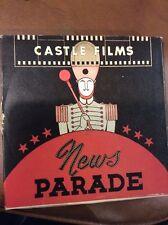 VINTAGE 1943 CASTLE FILMS 140 8MM WWII NEWSREEL FILM BISMARK VICTORY AT SEA
