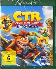 CTR - Crash Team Racing Nitro Fueled Xbox One - Neu & OVP - Deutsche USK Version
