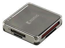 LECTEUR DE CARTES MEMOIRE SD, SDHC, micro-SD, CF, XD, M2, MS et MS-PRO. USB 2.0