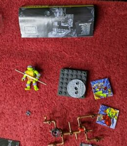 Mega Bloks Teenage Mutant Ninja Turtle Raphael,Mikey,Leo,Donatello,Rock,Bebop