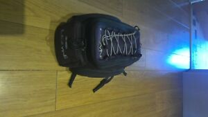 Lezyne rack top bag. Used but not seen much use. Large expanable capacity.