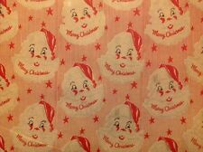 Vintage Department Store Christmas Wrapping Paper / Gift Wrap 3 Yards