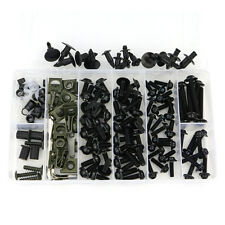 Complete Fairing Bolts Kit Screws For Honda VFR750 VFR800 VTR1000 VTR1000F Black