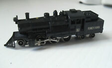 Vintage N Scale Powered Pennsylvania 383 Old Fashion Steam Locomotive and Tender