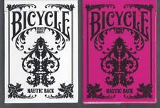2 DECKS Bicycle Nautic Back white-pink playing cards FREE USA SHIP
