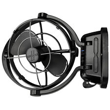 Caframo BORA 748 Truck RV Caravan Boat Interior Fan 3 Speed 12v Volt Black