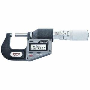 "Starrett 3732XFL-1 0-1"" Electronic Micrometer"
