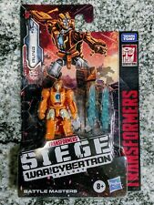 Transformers Siege WFC-S45 Autobot RUNG Battle Masters NEW IN HAND! SHIPS FAST!