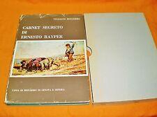 carnet segreto di ernesto rayper,vitaliano rocchiero ,con astuccio