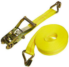 "(2)  2"" x 27' Ratchet Strap with Wire Hooks"