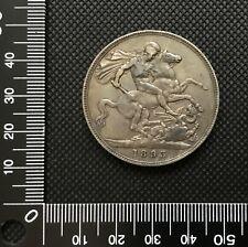 Queen Victoria 1893 Silver Crown