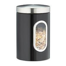 1 x Vorratsdose schwarz Aufbewahrungsdose Kaffeebohnenbehälter Küchenbehälter