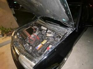 P2M Phase 2 BLACK Series Hood Bonnet Dampers Set for VW Golf MK3 92-00 New