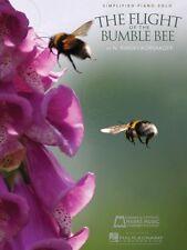 Flight of the Bumble Bee Sheet Music Intermediate Piano Solo Piano Sol 000009510