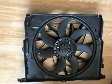 Bmw 5 series f10 f11 520d radiator rad ac fan electric motor cowling housing